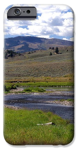 Slough Creek Angler iPhone Case by Marty Koch