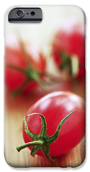 Small iPhone Cases - Small tomatoes iPhone Case by Elena Elisseeva
