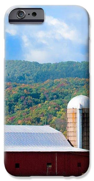Smokie Mountain Barn iPhone Case by Betty LaRue