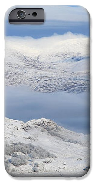 Snow Covered Landscape In Winter Near iPhone Case by Peter Zoeller