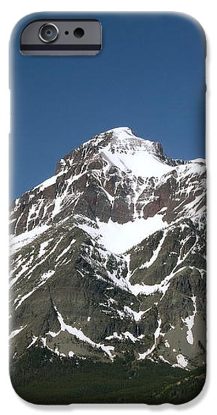 Snow Covered Mountain iPhone Case by Amanda Kiplinger