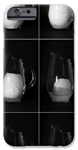 Snow Melt iPhone Cases - Snow Melting iPhone Case by Ted Kinsman