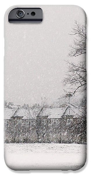 Snow Scape London SW iPhone Case by Lenny Carter