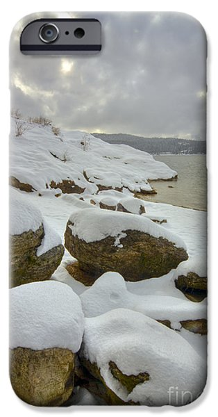 Snow iPhone Cases - Snowcapped iPhone Case by Idaho Scenic Images Linda Lantzy