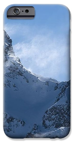 Snowdrift Formation iPhone Case by Dr Juerg Alean