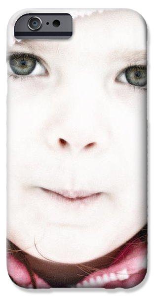 Snowy Innocence iPhone Case by Gwyn Newcombe