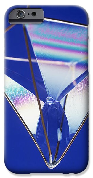 Soap Films On A Pyramid iPhone Case by Andrew Lambert Photography