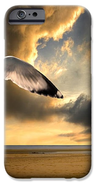 soaring inshore iPhone Case by Meirion Matthias