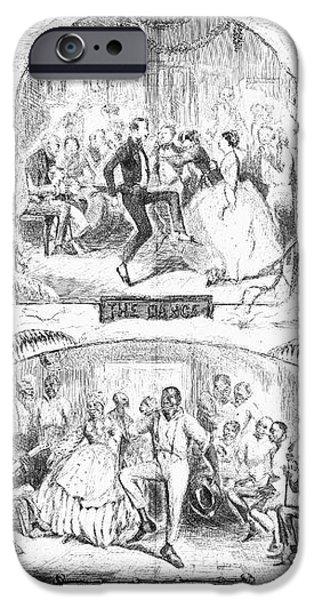 SOCIAL ACTIVITIES, 1861 iPhone Case by Granger