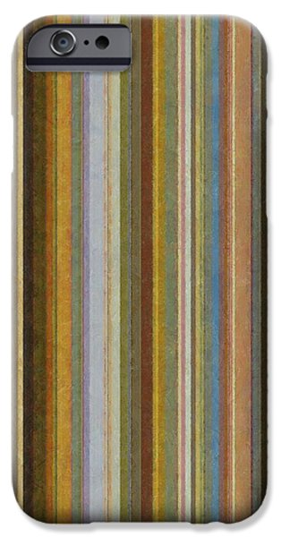 Soft Stripes ll iPhone Case by Michelle Calkins