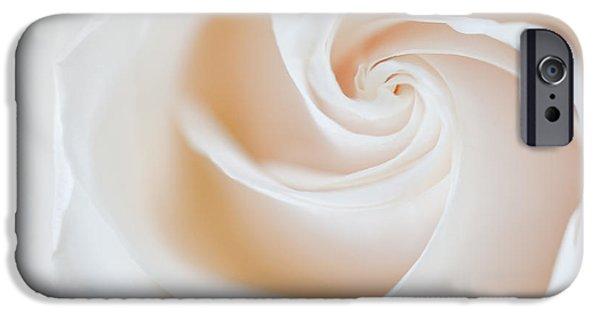 Susan Candelario Photographs iPhone Cases - Soft Swirls iPhone Case by Susan Candelario