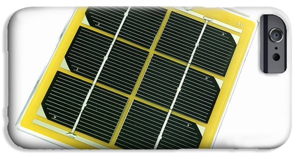 Energy Conversion iPhone Cases - Solar Cell iPhone Case by Friedrich Saurer