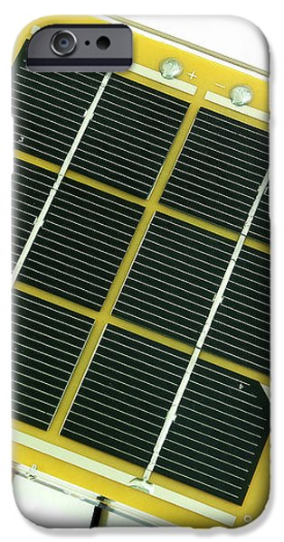 Solar Cell iPhone Case by Friedrich Saurer