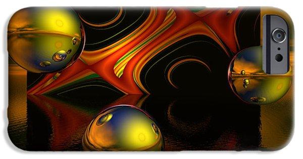 Solar Eclipse iPhone Cases - Solar Eclipse iPhone Case by Sandra Bauser Digital Art