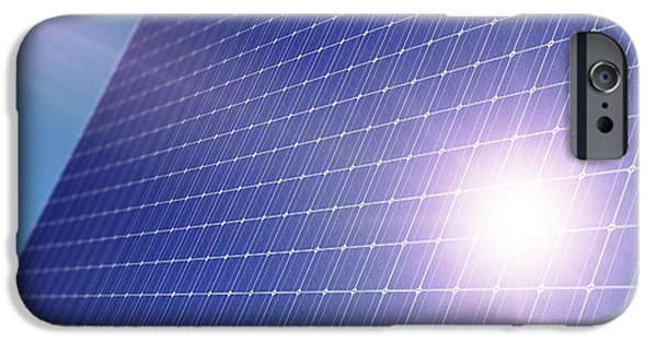 Solar Power iPhone Cases - Solar Panel iPhone Case by Detlev Van Ravenswaay