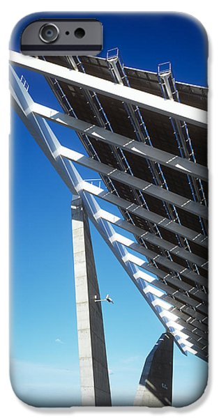 Solar Power iPhone Cases - Solar Power Station iPhone Case by Carlos Dominguez