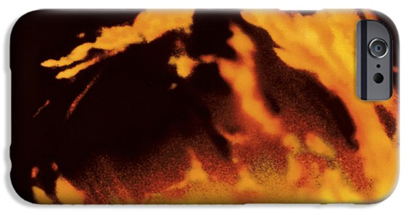 Sun Flare iPhone Cases - Solar Prominence iPhone Case by Hale Observatories