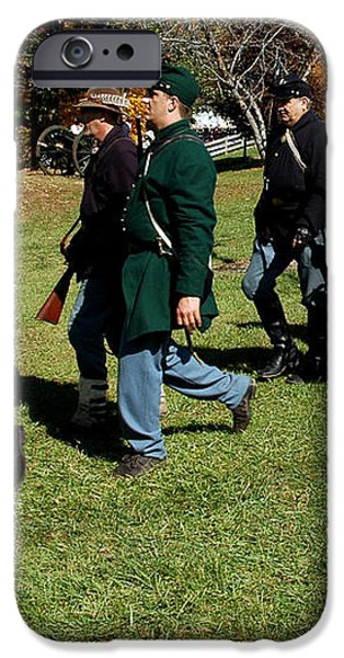 Soldiers March two by two iPhone Case by LeeAnn McLaneGoetz McLaneGoetzStudioLLCcom