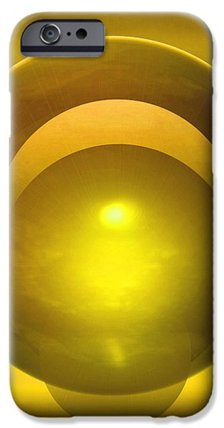 Abstract Expressionist iPhone Cases - Solstice iPhone Case by John Krakora