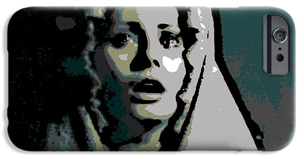Torn iPhone Cases - Sorrow iPhone Case by George Pedro