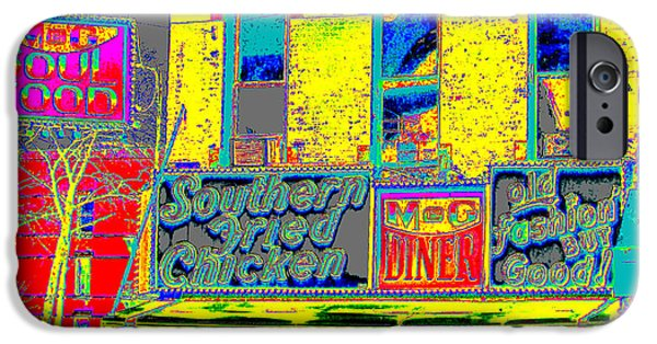 Harlem iPhone Cases - Soul Food iPhone Case by Steven Huszar