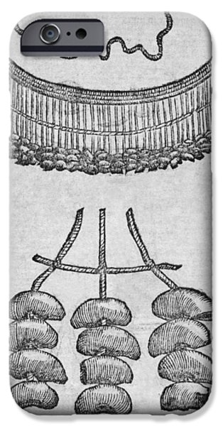Soursop Seeds Used As Necklace iPhone Case by Middle Temple Library