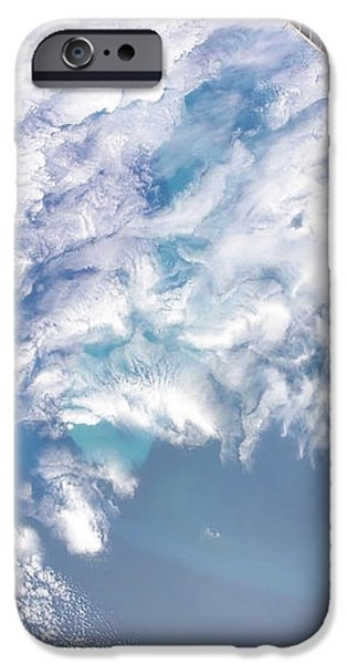 South Atlantic Plankton Bloom iPhone Case by Stocktrek Images