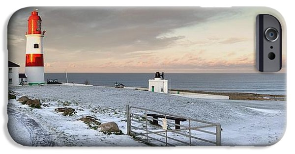 Pathway iPhone Cases - South Shields, Tyne And Wear, England A iPhone Case by John Short