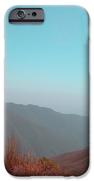 Southern California Mountains 2 iPhone Case by Naxart Studio