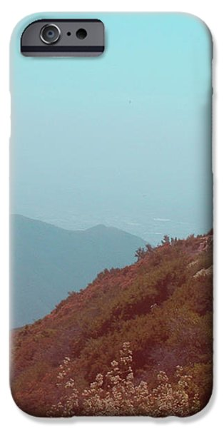 Southern California Mountains iPhone Case by Naxart Studio