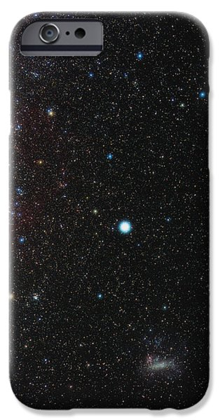 Southern Milky Way iPhone Case by Eckhard Slawik
