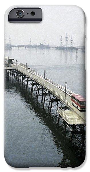 Soviet Caspian Sea Oil Fields, 1978 iPhone Case by Ria Novosti