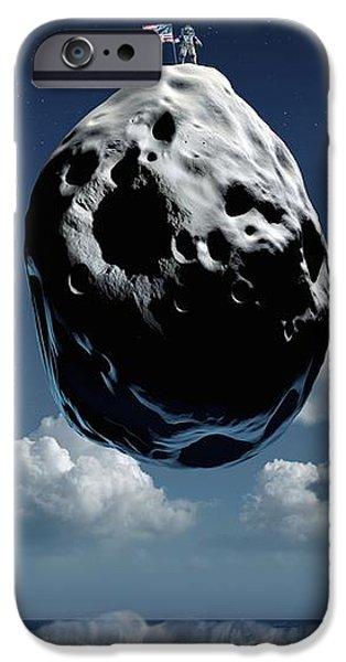 Space Exploration, Conceptual Image iPhone Case by Detlev Van Ravenswaay