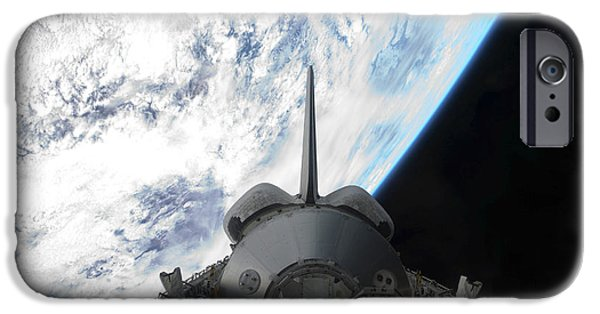 Best Sellers -  - Component iPhone Cases - Space Shuttle Endeavours Payload Bay iPhone Case by Stocktrek Images