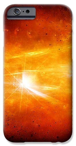 Space008 iPhone Case by Svetlana Sewell