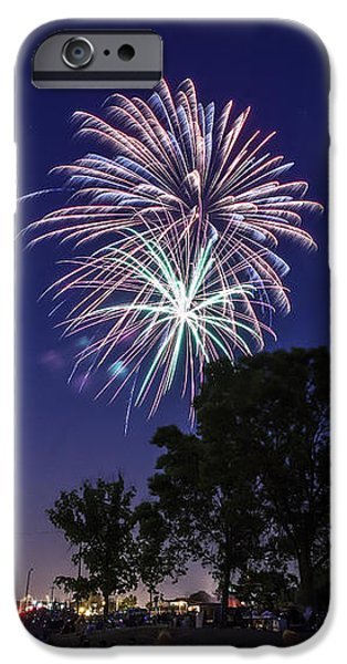 Spark and Bang iPhone Case by CJ Schmit