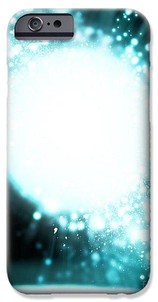 Technology iPhone Cases - Sphere Lighting iPhone Case by Setsiri Silapasuwanchai