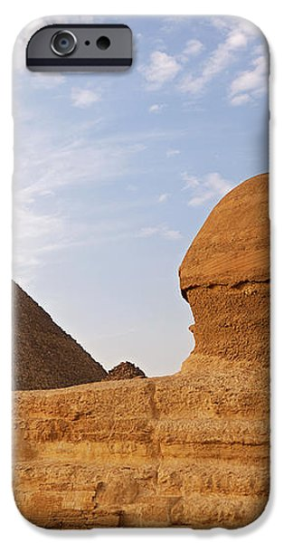 Sphinx of Giza iPhone Case by Jane Rix