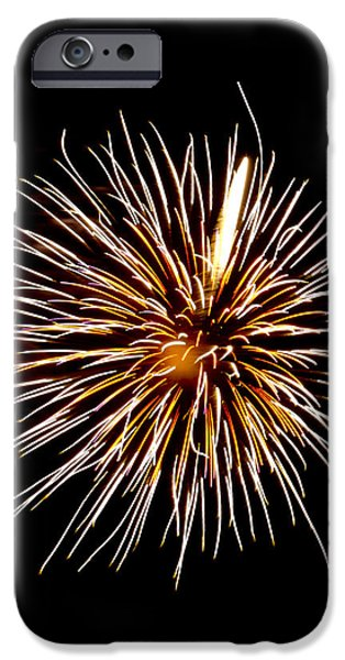 July 4th Digital Art iPhone Cases - Spider Ball iPhone Case by Phill  Doherty