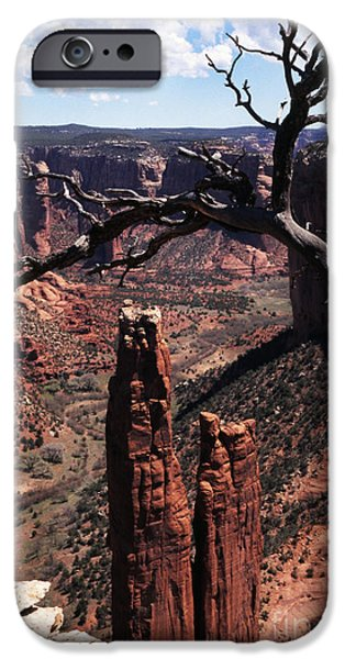 Chelly iPhone Cases - Spider Rock iPhone Case by Thomas R Fletcher