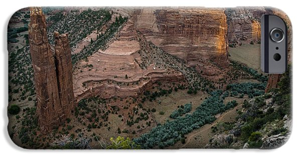 Chelly iPhone Cases - Spider Rock Vista iPhone Case by Dave Dilli