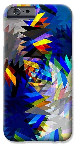 spinning saw iPhone Case by ATIKETTA SANGASAENG