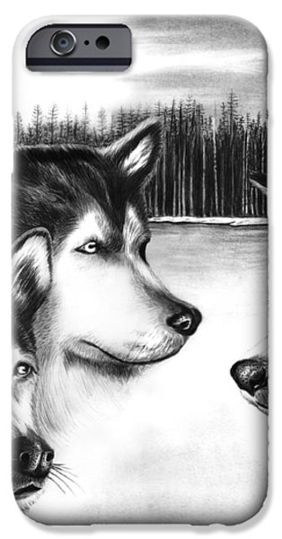 Spirit Guides  iPhone Case by Peter Piatt