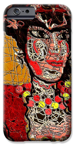 Splashy Lady iPhone Case by Natalie Holland