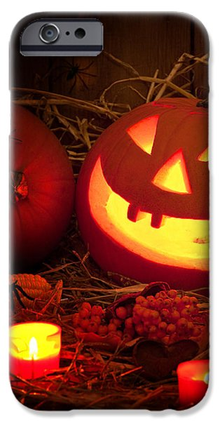 Creepy iPhone Cases - Spooky Halloween iPhone Case by Amanda And Christopher Elwell