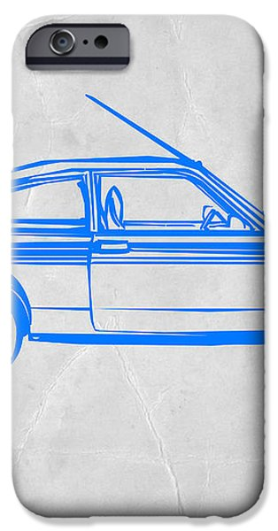 Sports Car iPhone Case by Naxart Studio