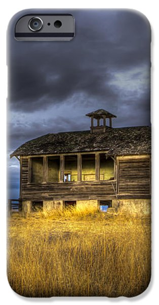 Spot on the School House iPhone Case by Jean Noren
