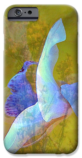 Spread to the Wind iPhone Case by Shirley Sirois