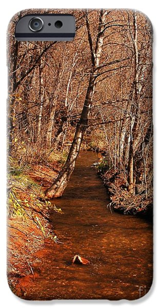 Spring at Red Rock Crossing iPhone Case by Marilyn Smith