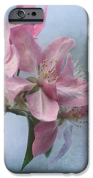 Spring Blossoms for the Cure iPhone Case by Kim Hojnacki